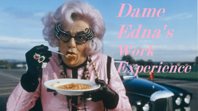 Dame Edna's Work Experience