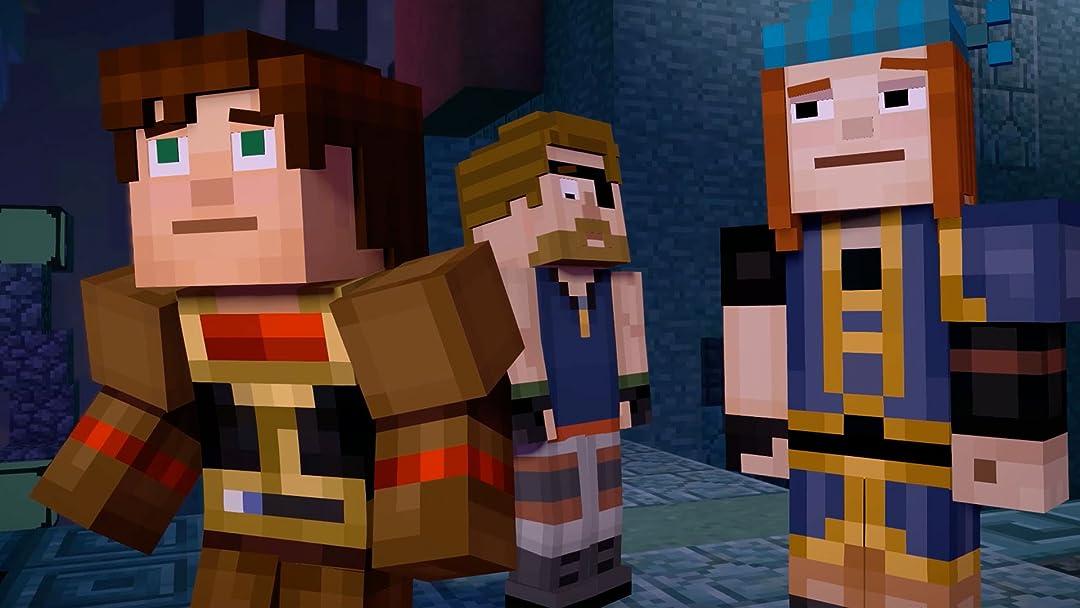 Amazon Com Watch Clip Story Mode Minecraft Season Two Gameplay