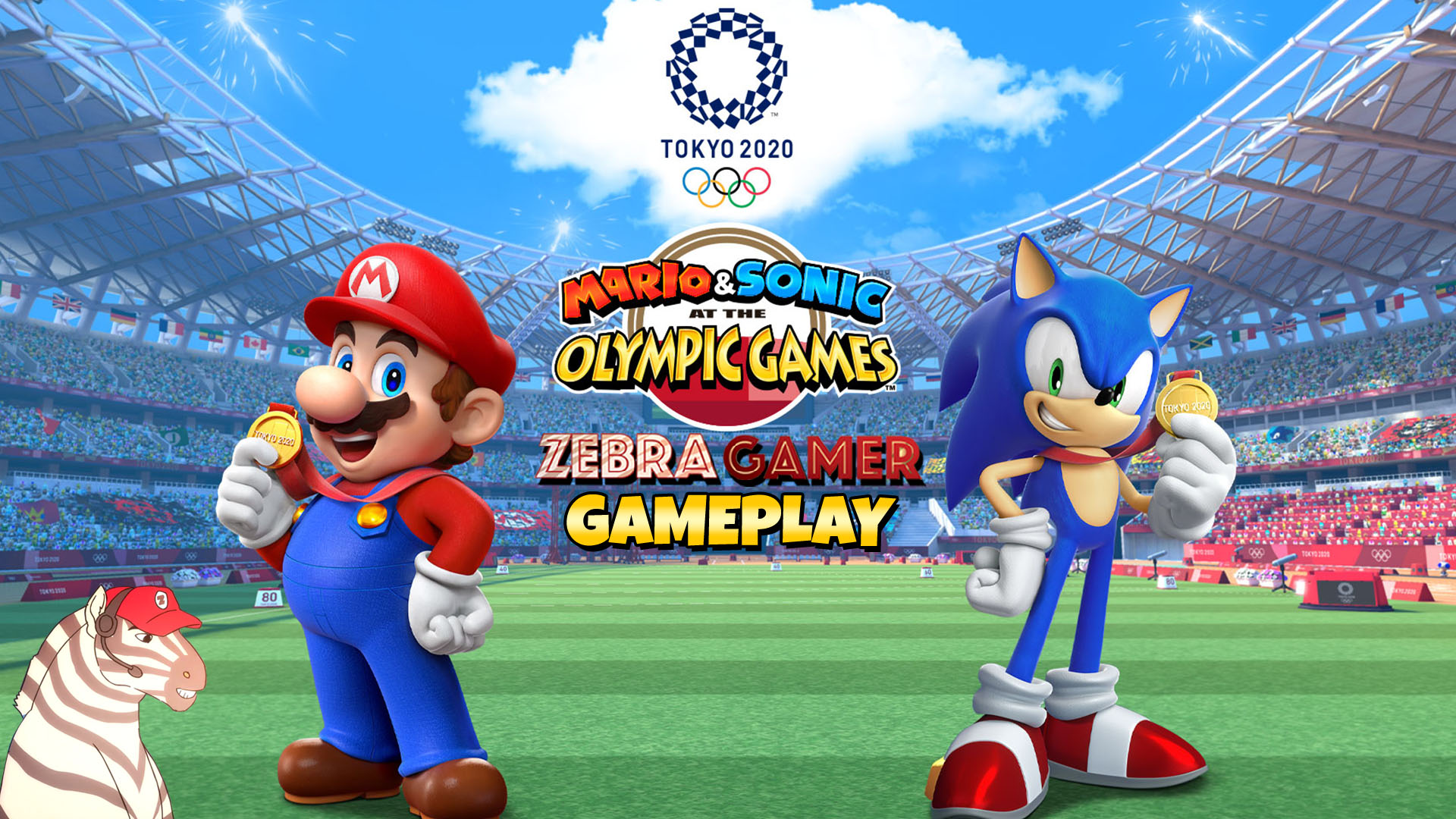 Amazon Com Watch Clip Team Sonic Racing Gameplay Zebra Gamer Prime Video