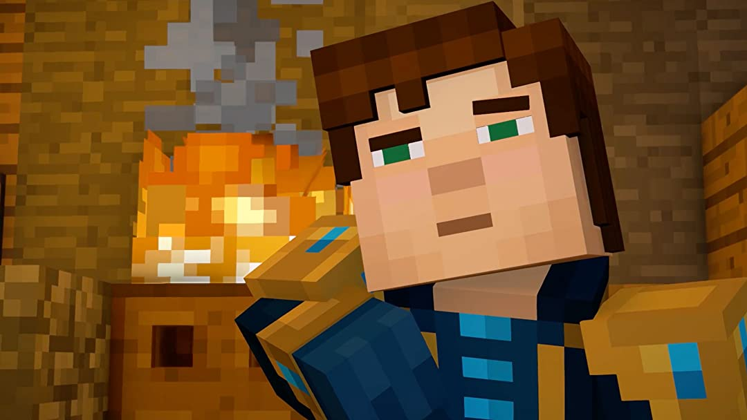 Amazon Com Watch Clip Story Mode Minecraft Season Two Gameplay