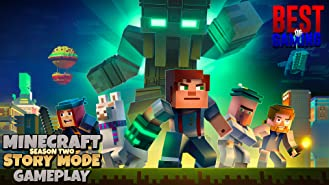 Clip: Story Mode Minecraft Season Two Gameplay - Best of Gaming!