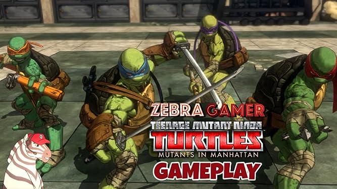 Amazon.com: Clip: Teenage Mutant Ninja Turtles: Mutants in ...