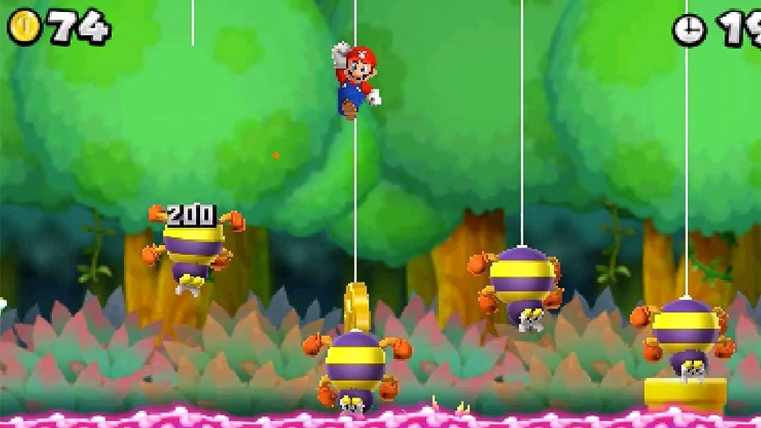 Amazon Com Watch Clip New Super Mario Bros 2 Gameplay Zebra