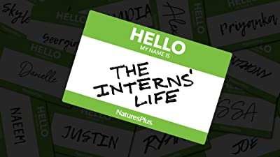 #TheInternsLife at NaturesPlus