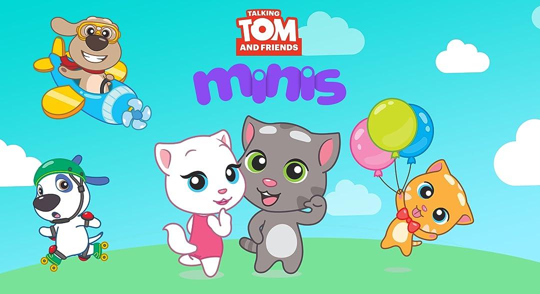 Amazon.com: Talking Tom and Friends Minis: Minjolli