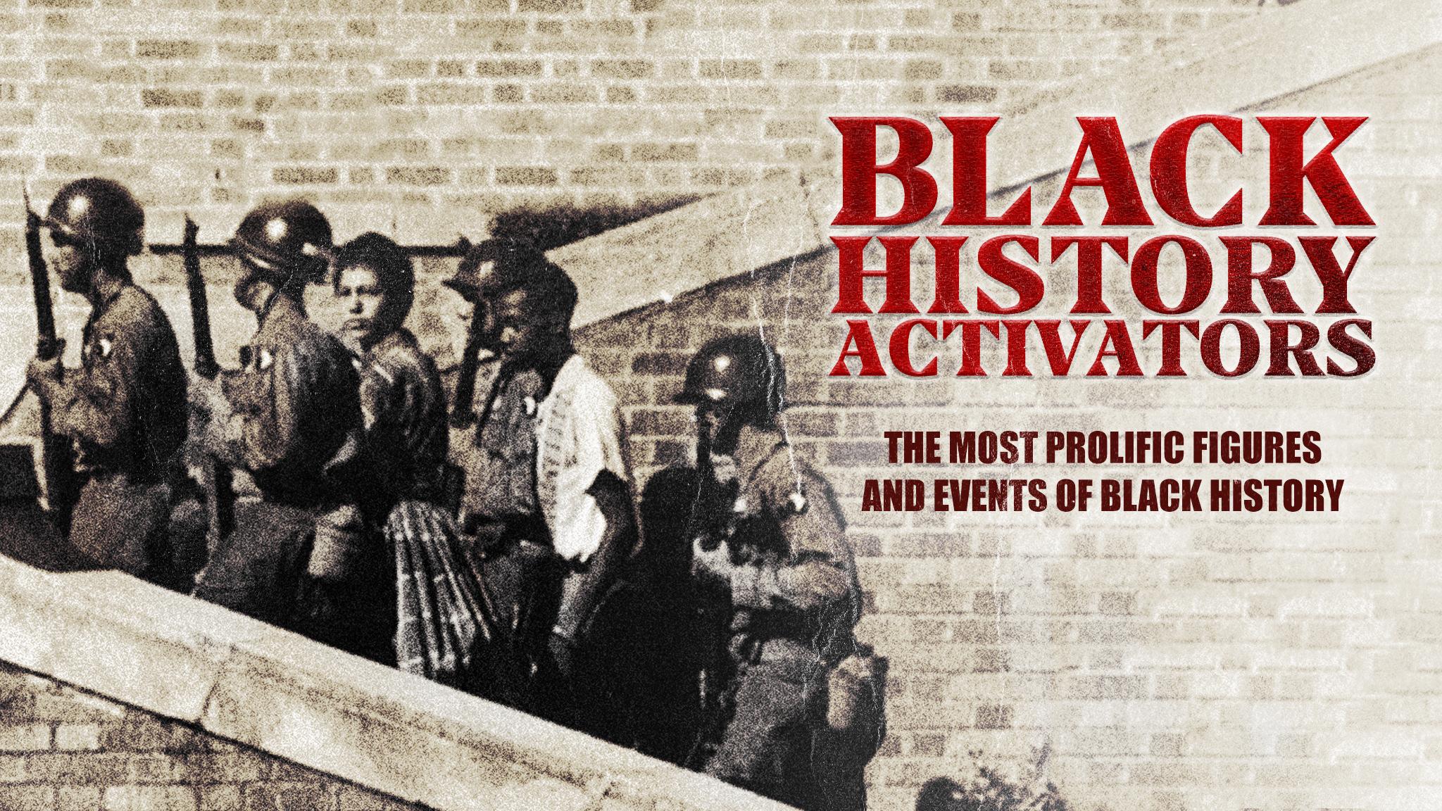 Watch Black History Activators Prime Video