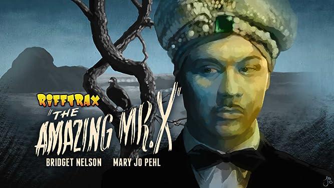 RiffTrax The Amazing Mr X