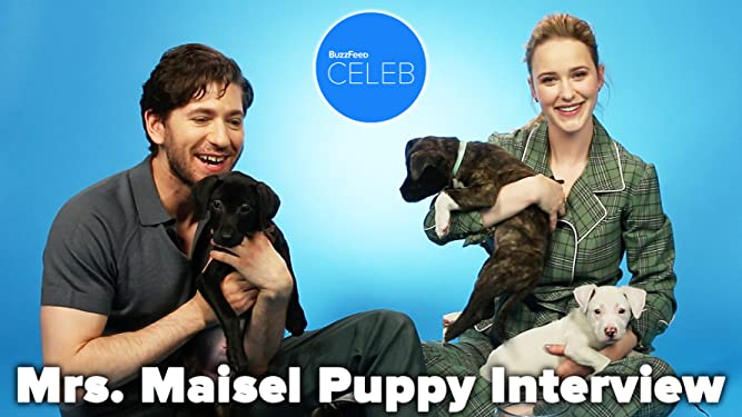 'The Marvelous Mrs. Maisel' Puppy Interview
