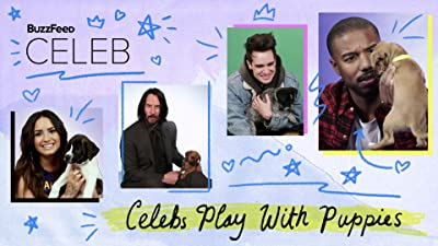BuzzFeed Celeb: Celebs Play With Puppies