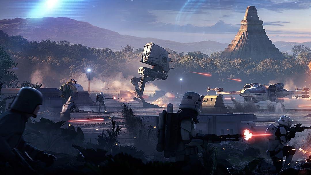 Amazon.com: Clip: Star Wars Battlefront 2 Beta Playthrough: Carson ...