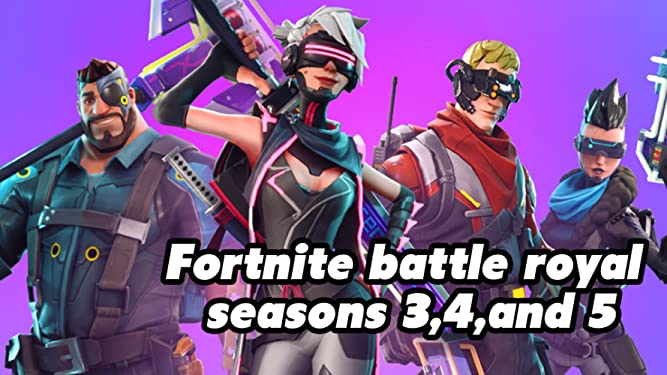 Amazon.com: Watch Fortnite Battle Royale Season 3, 4, And 5 ...
