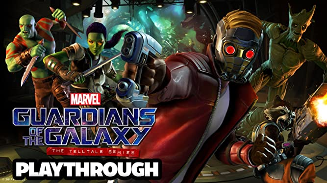 Amazon.com: Clip: Guardians Of The Galaxy A Telltale Series ...