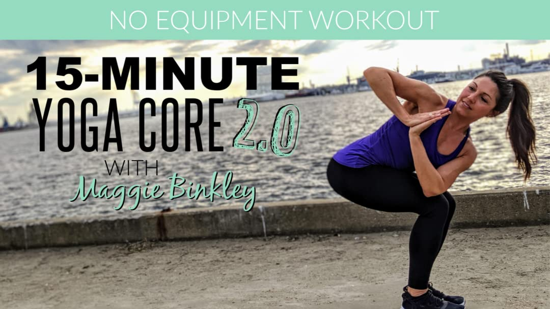 Amazon.com: 15-Minute Yoga Core 2.0 (Workout): Maggie ...