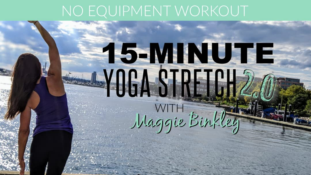 Amazon.com: 15-Minute Yoga Stretch 2.0 (Workout): Maggie ...