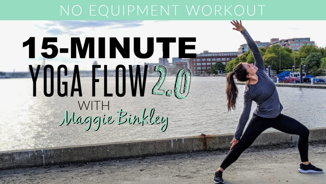 Amazon.com: 15-Minute Yoga Flow 2.0 (Workout): Maggie ...