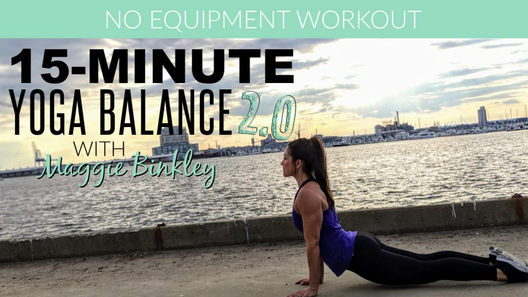 Amazon.com: 15-Minute Yoga Balance 2.0 (Workout): Maggie ...
