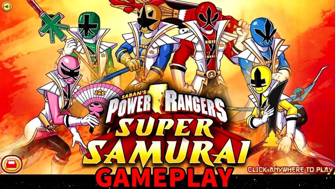 Watch Clip Power Rangers Super Samurai Gameplay Prime Video