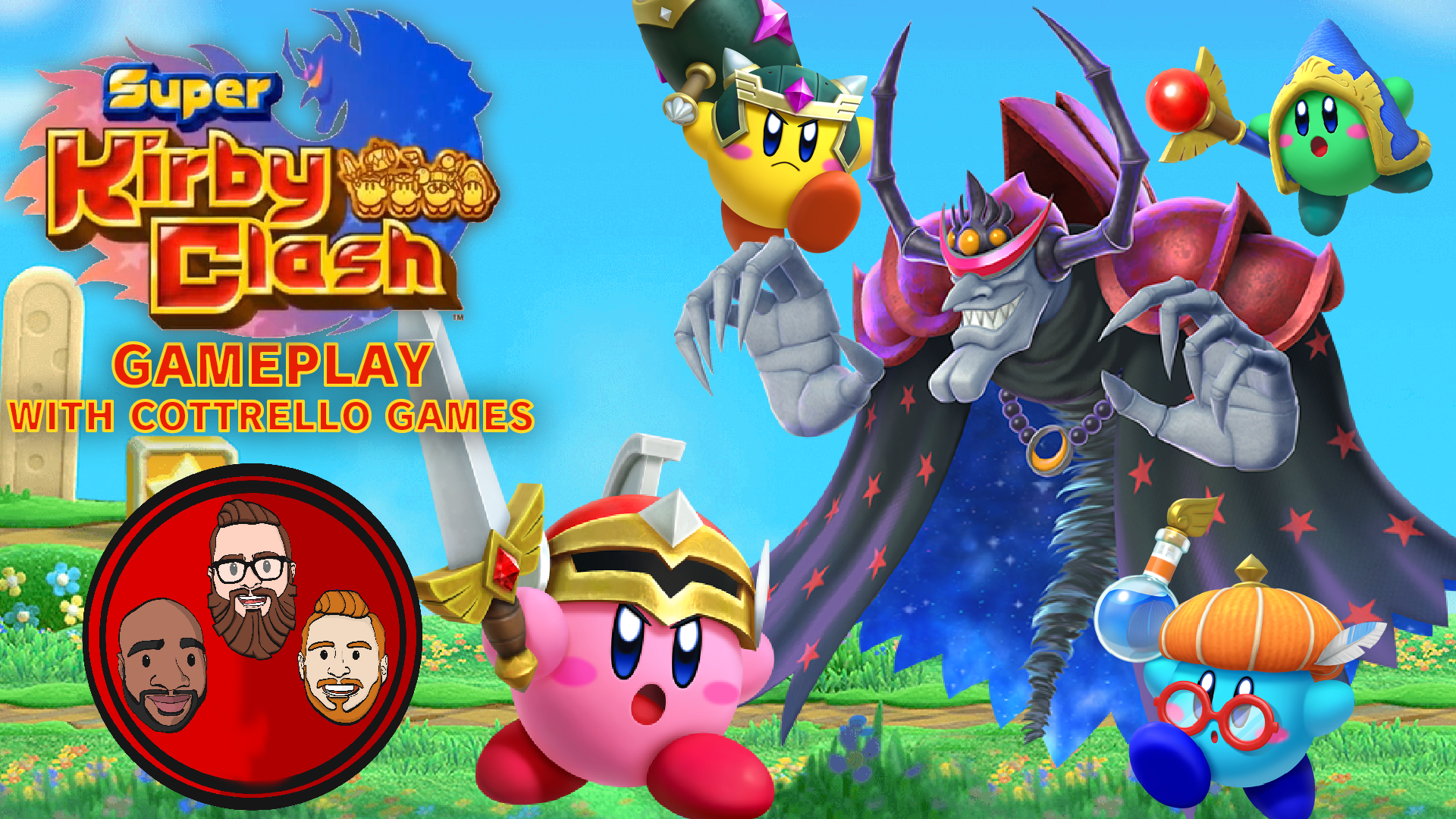 Watch Kirby S Return To Dream Land Multiplayer Playthrough With