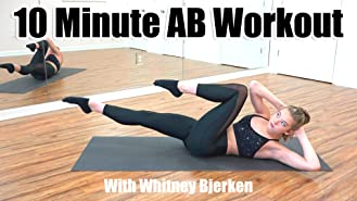 10 Minute Ab Workout with Whitney Bjerken