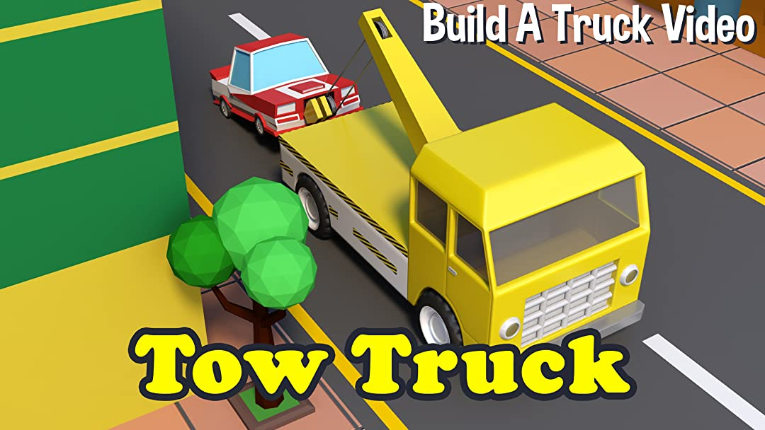 Build A Truck >> Watch Tow Truck Build A Truck Video Prime Video