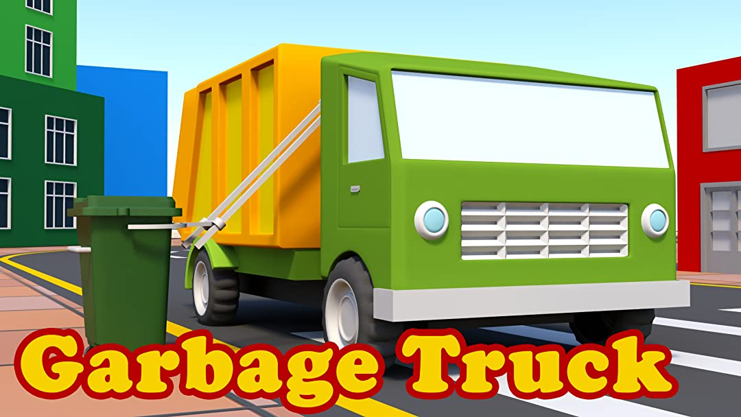 Build A Truck >> Amazon Com Watch Garbage Truck Build A Truck Video