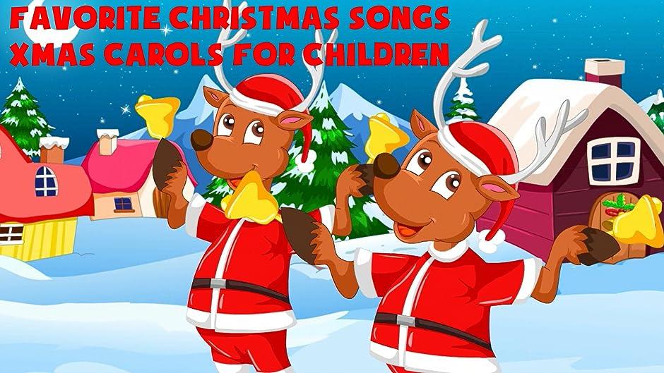 Amazon.com: Favorite Christmas Songs - Xmas Carols For Children ...