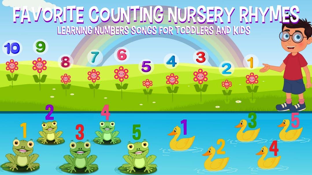 Watch Favorite Counting Nursery Rhymes