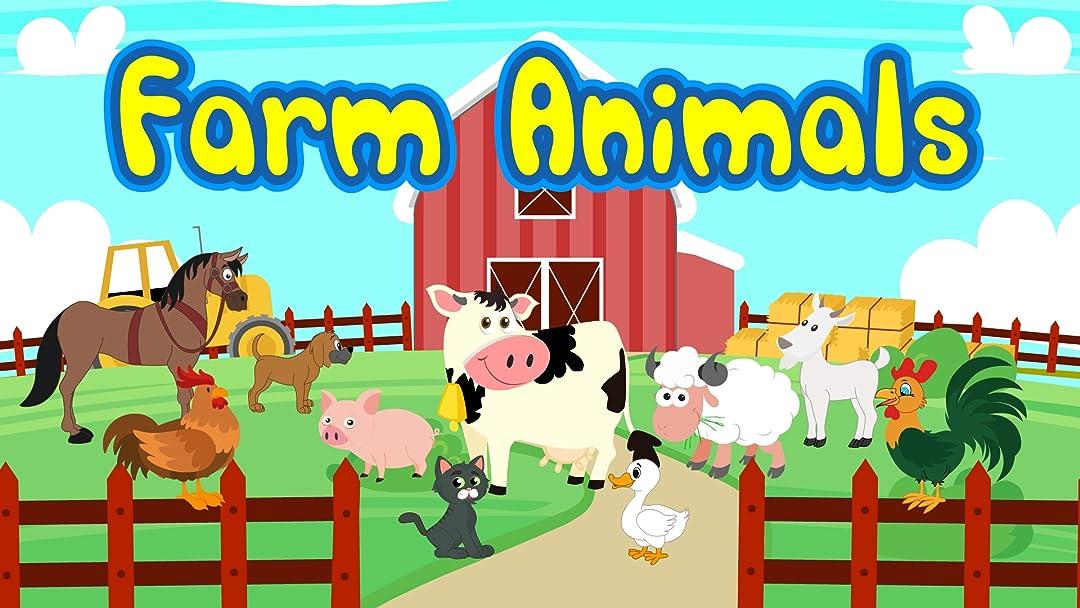 Watch Farm Animals Classical Music Cartoon For Kids Prime Video