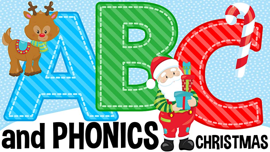 amazoncom abc and phonics christmas kids 1st tv kids nursery rhymes tv and baby songs kids 1st tv christmas songs for toddlers and children