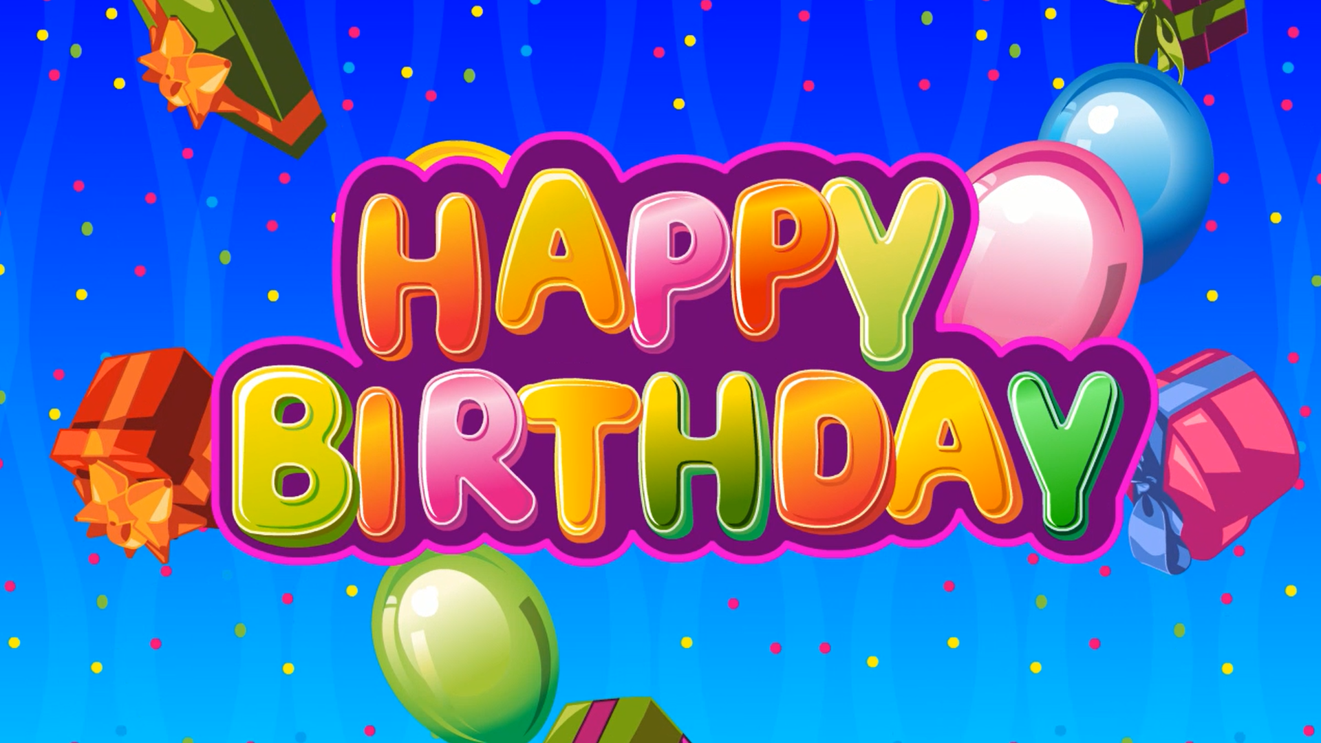 Watch Happy Birthday To You - Happy Birthday Songs For