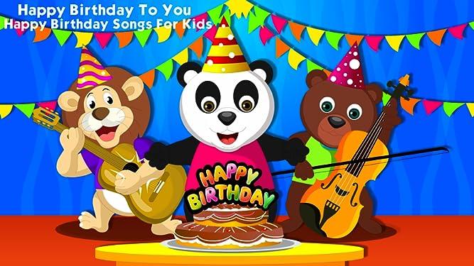 Amazon com: Watch Happy Birthday To You - Happy Birthday