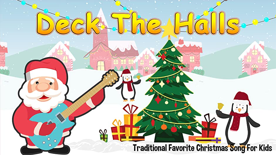 Amazon.com: Deck The Halls - Traditional Favorite Christmas Song For ...