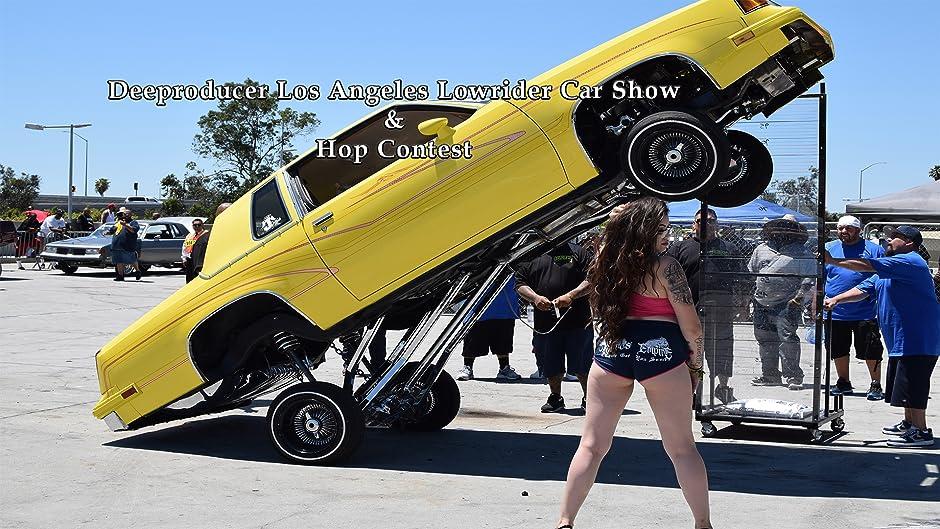 Amazoncom Deeproducer Los Angeles Lowrider Car Show Hop Contest - Lowrider car show los angeles 2018