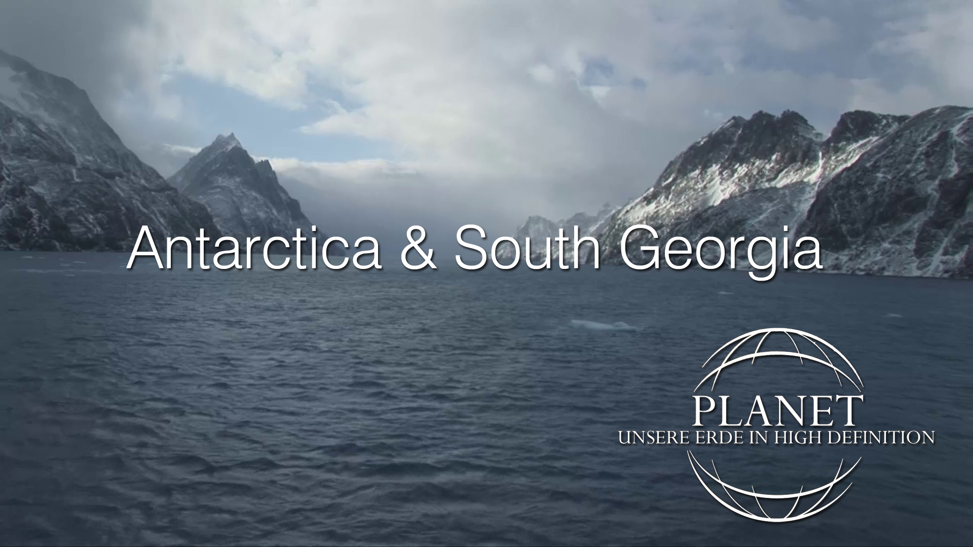 Planet - Antarctica & South Georgia