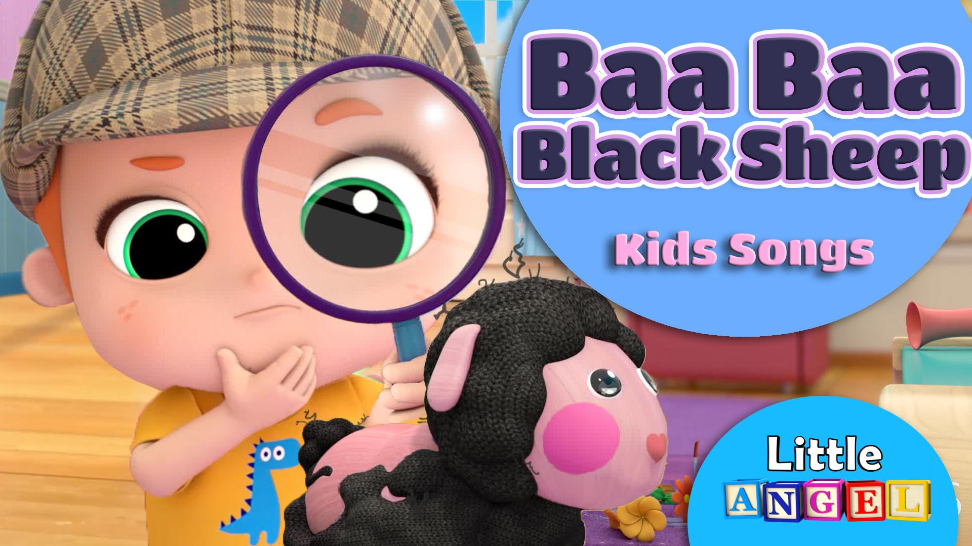 Baa Baa Black Sheep Kids Songs