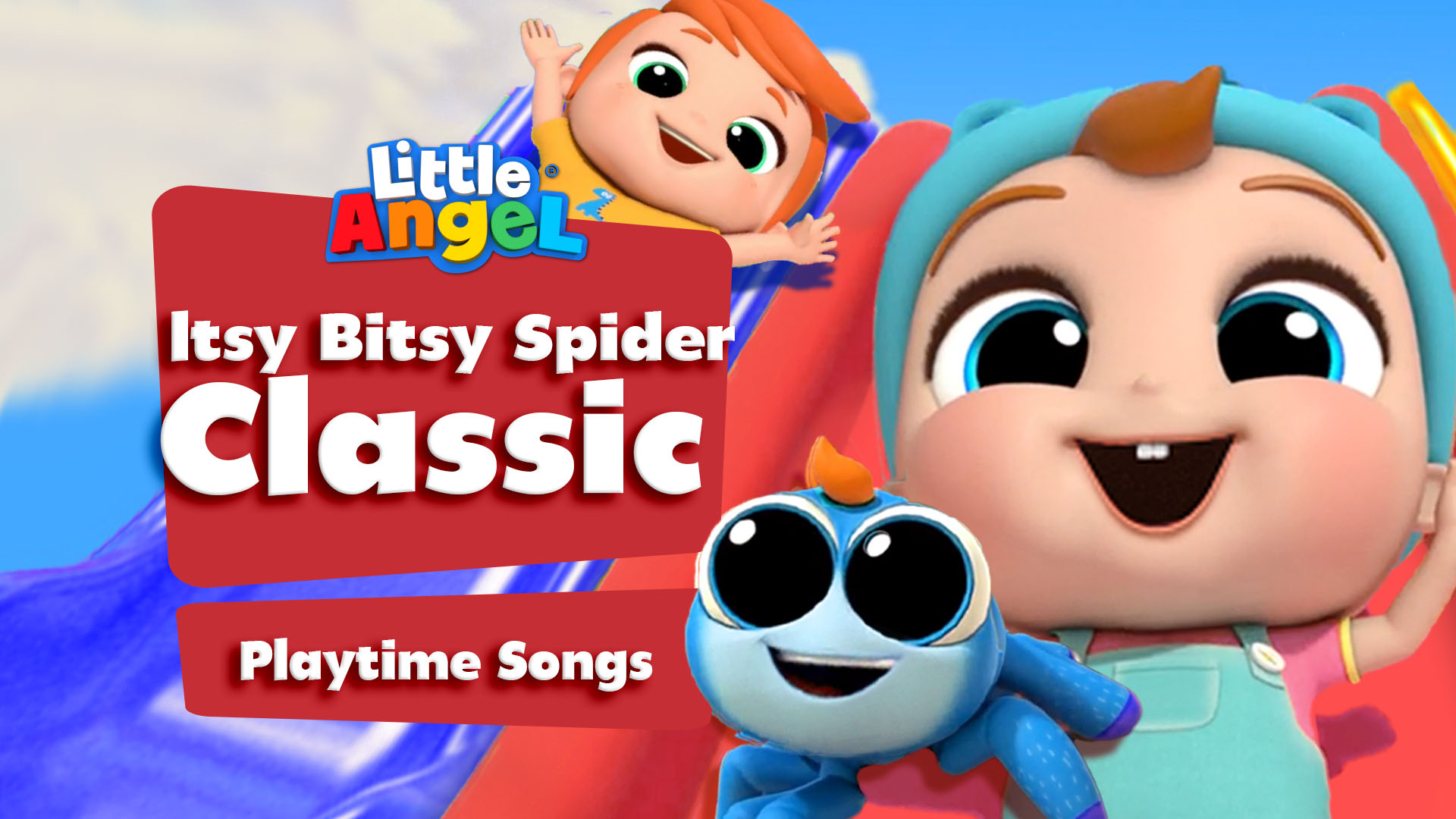 Itsy Bitsy Spider Classic Playtime Songs - Little Angel