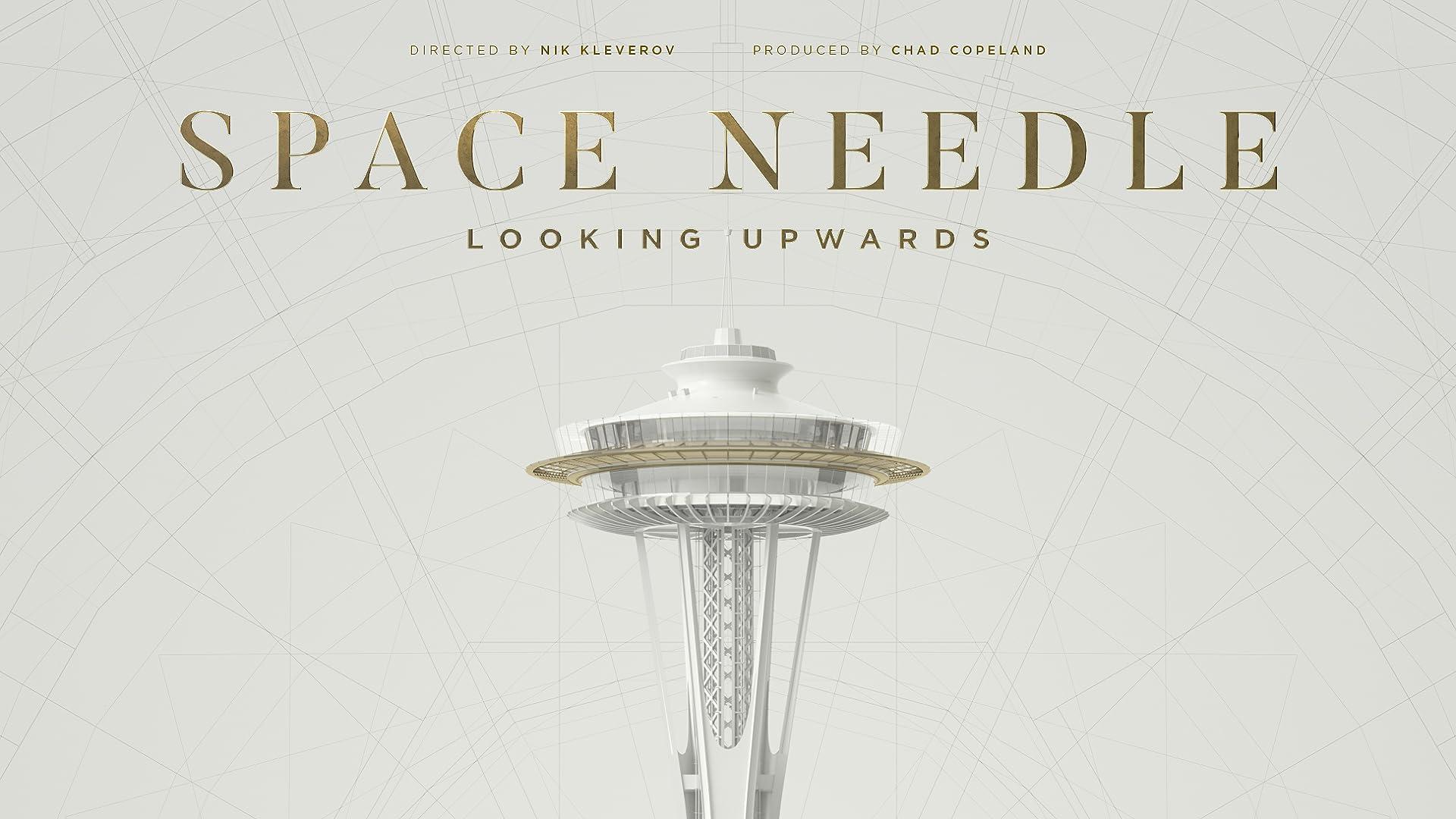Space Needle Looking Upwards