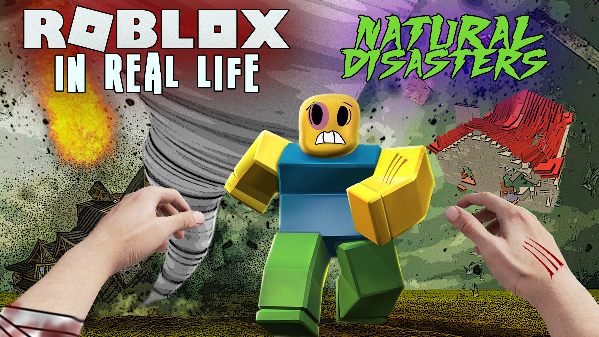 Tsunami Roblox Natural Disasters Watch Roblox In Real Life Natural Disasters Prime Video