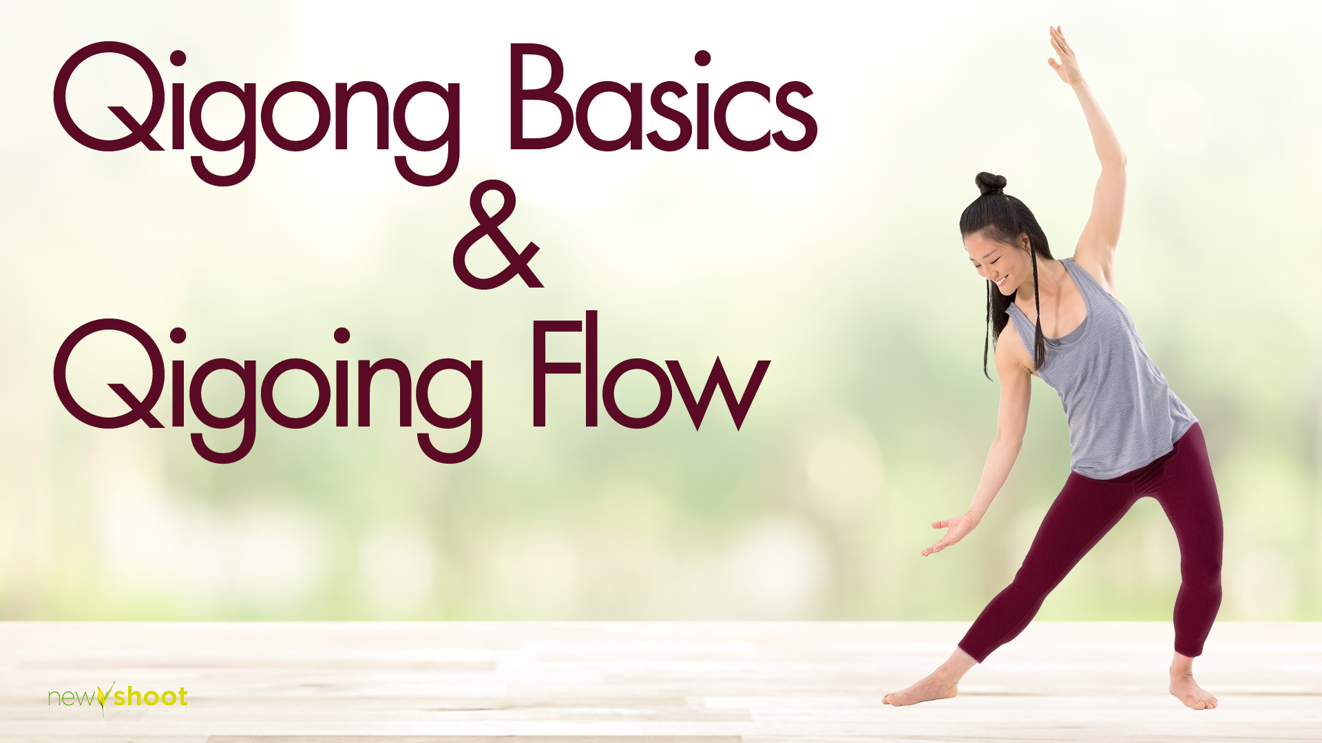 Qigong Basics & Qigong Flow Set with Mimi Kuo-Deemer