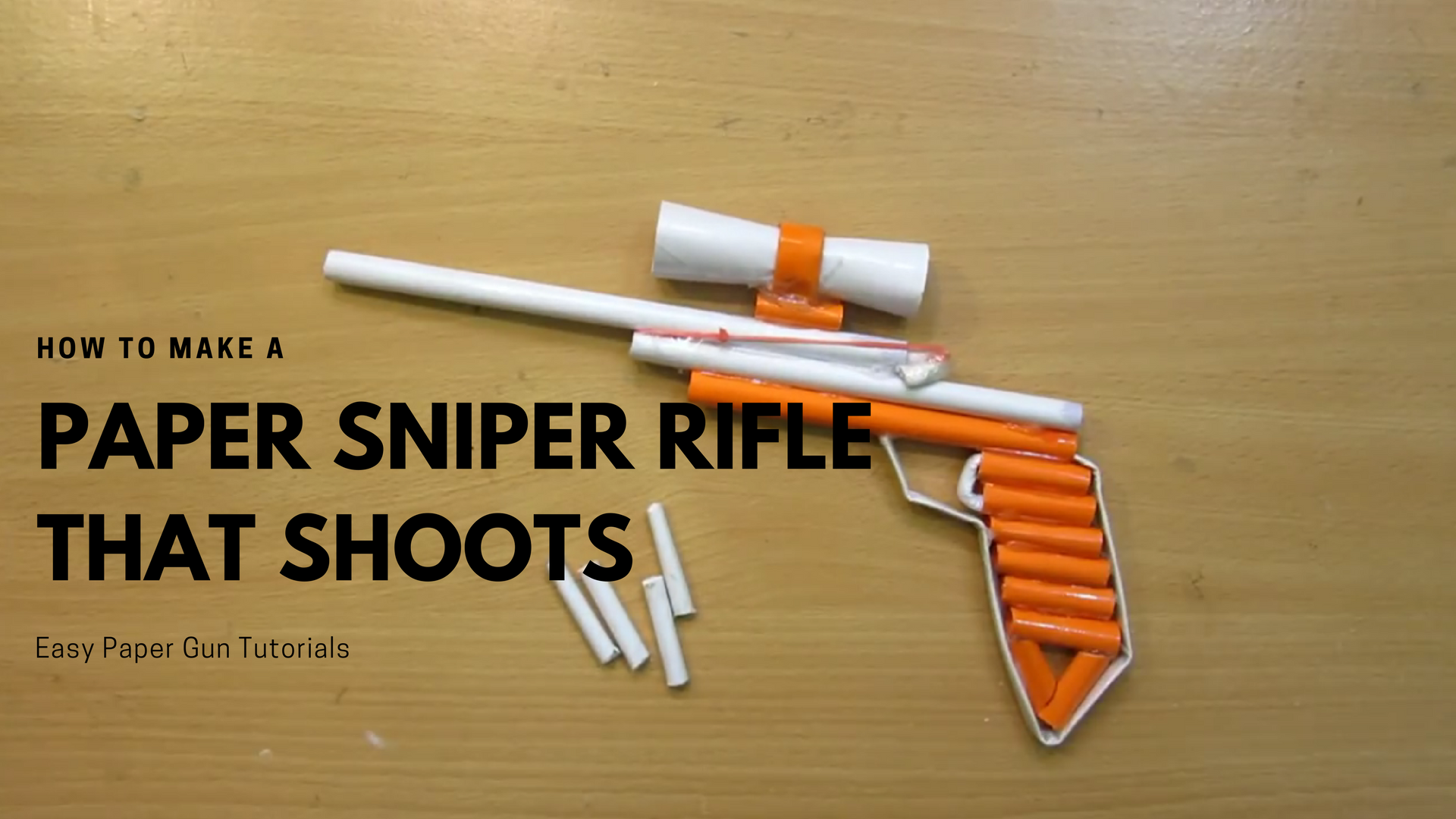 How to Make Paper Guns Step by Step VIDEO App for Android - APK Download | 1080x1920