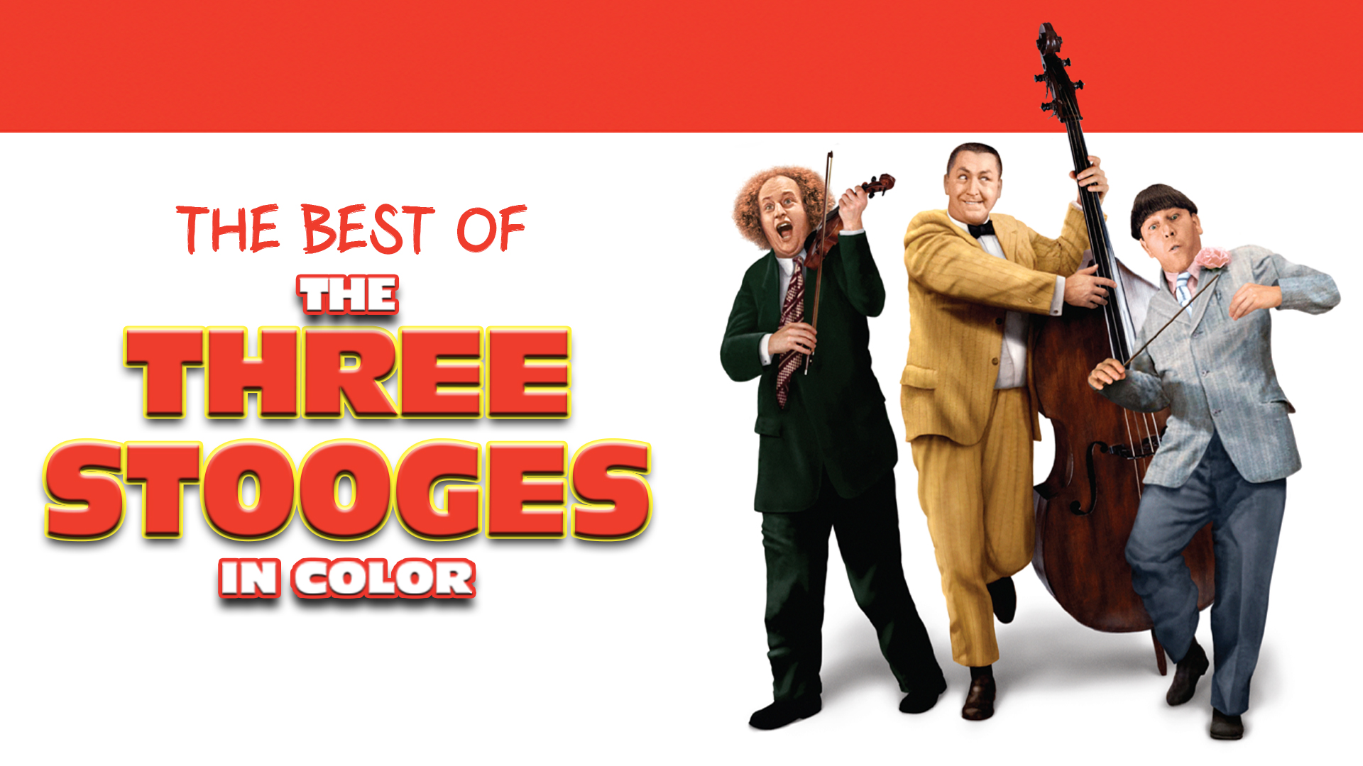 The Best of The Three Stooges in Color!