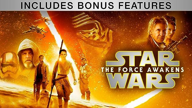 Star Wars: The Force Awakens (Plus Bonus Features)