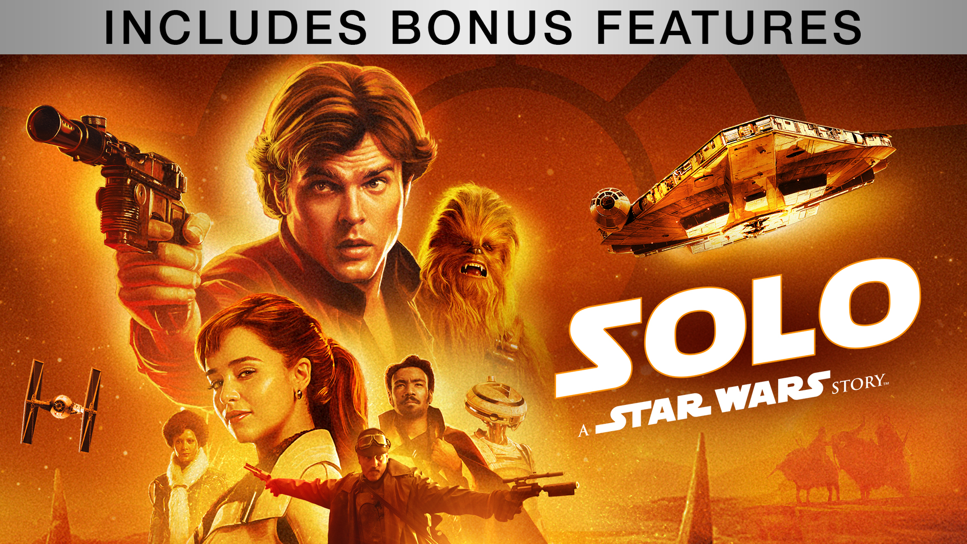 Solo: A Star Wars Story (With Bonus Content)