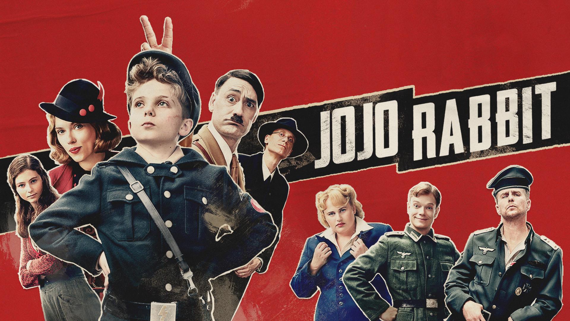 Image result for jojo rabbit movie poster landscape