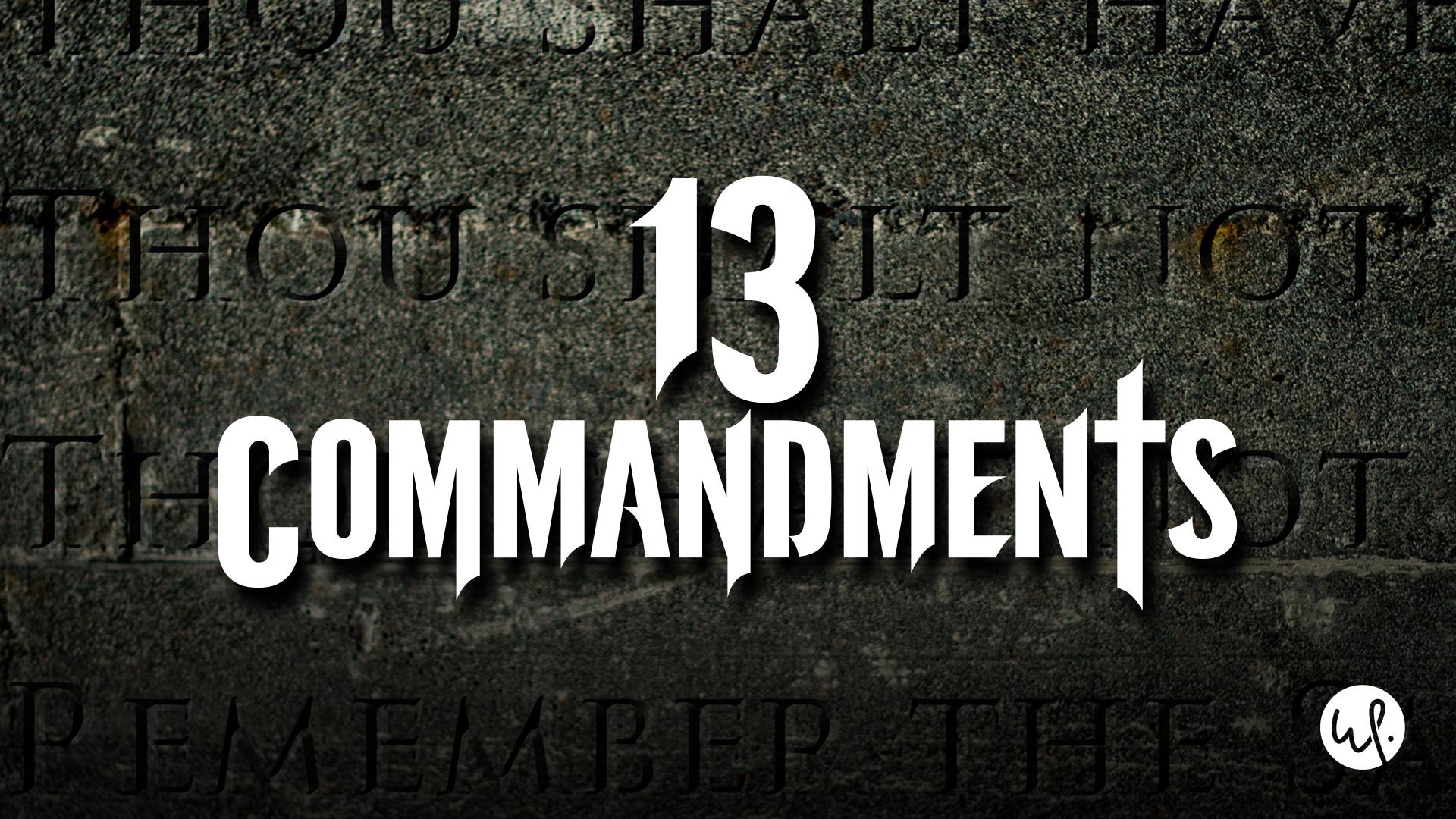 13 Commandments - Season 1
