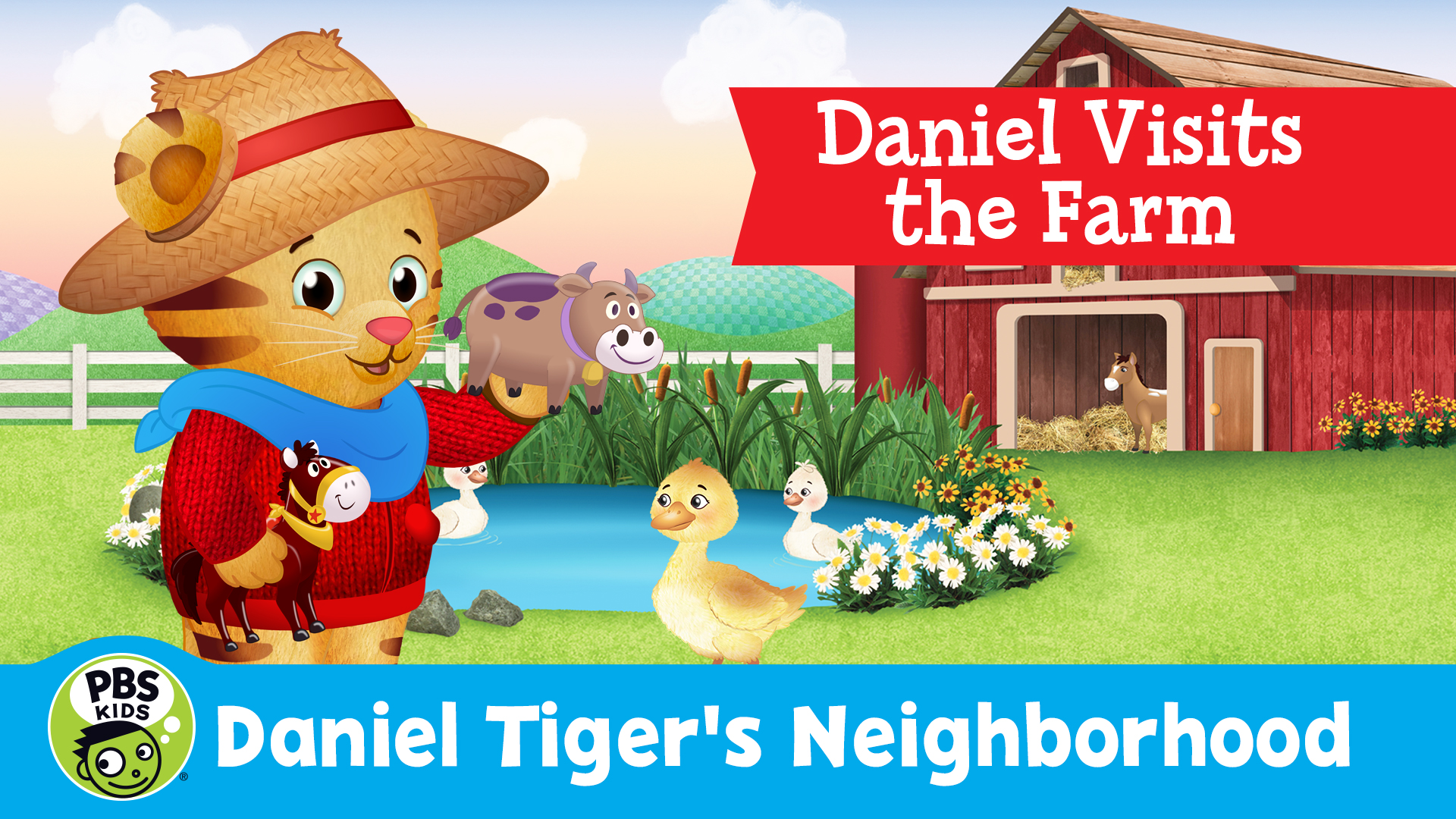 Daniel Tiger's Neighborhood: Daniel Visits the Farm