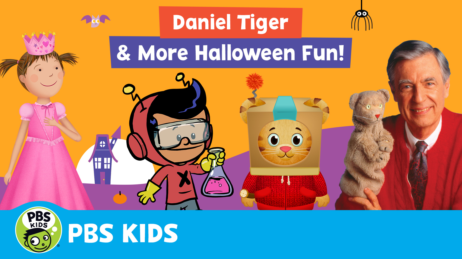 Daniel Tiger and More Halloween Fun!