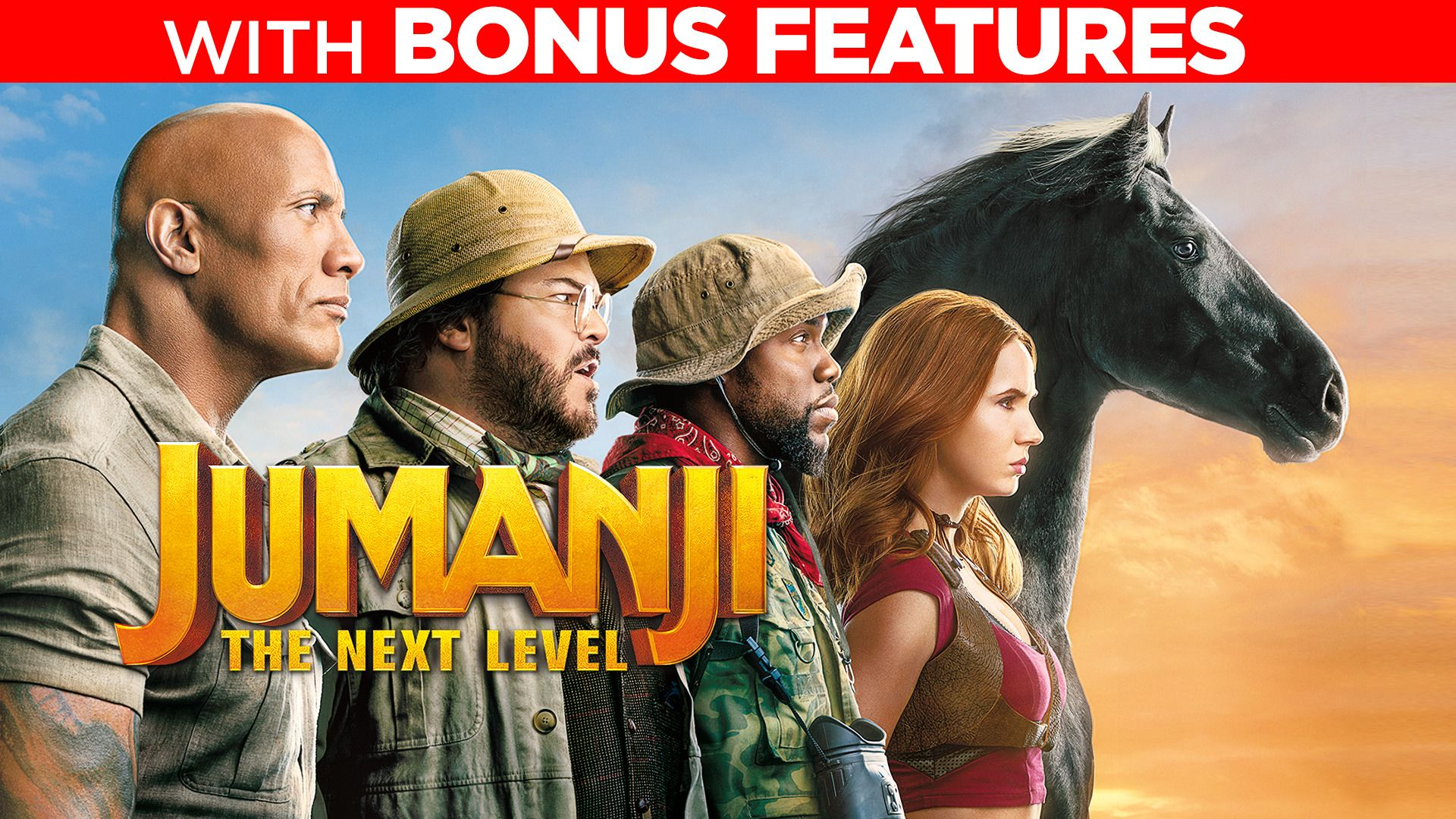 Jumanji: The Next Level (With Bonus Features)