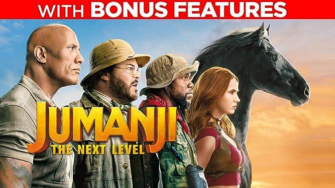 Jumanji: The Next Level (With Bonus Features)