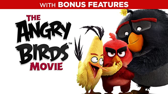 The Angry Birds Movie (Plus Bonus Features)